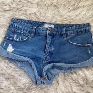 FreePeople denim shorts